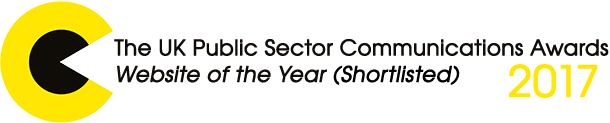 Shortlisted as Website of the Year in the Public Sector Communication Awards 2017